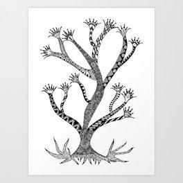 Alluring Tree Art Print