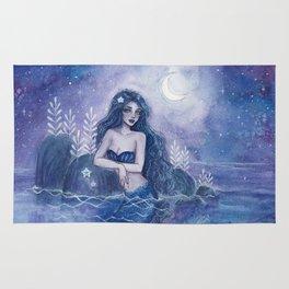 Moonlight Mermaid Rug