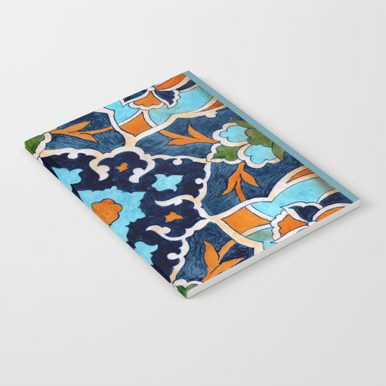 Mediterranean tile Notebook