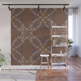 Pattern brown decoration Wall Mural