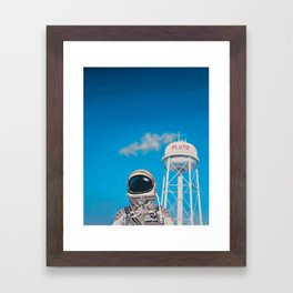 Pluto Framed Art Print