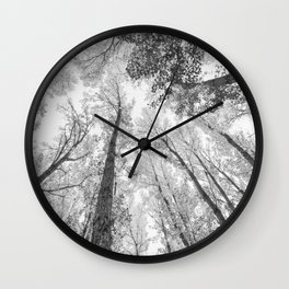 """Up in the air II"" BW Wall Clock"