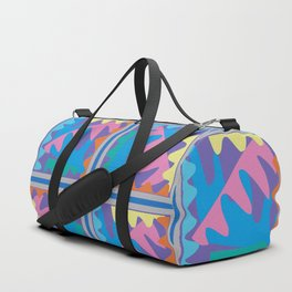 Mountain Puzzles Pastel Duffle Bag