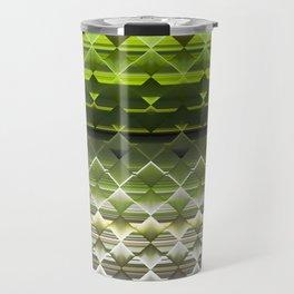 Crinkle Glass Travel Mug