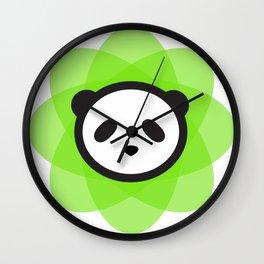 the atomik panda Wall Clock