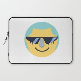 Franky Emoji Design Laptop Sleeve