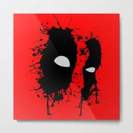 The eyes of antihero Metal Print