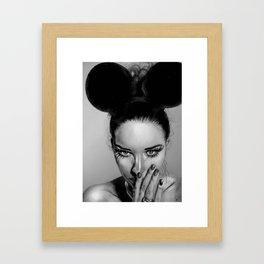 + Beauty School + Framed Art Print