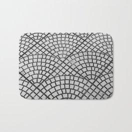 Pattern on floor Bath Mat