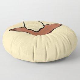 Mustache Facemask Floor Pillow