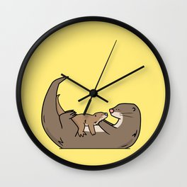 About Dad Wall Clock