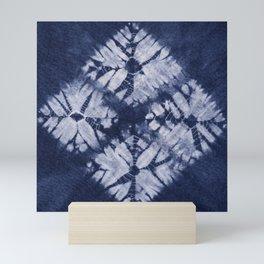 Denim Tie Dye Mini Art Print