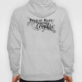 Finding Trouble (on light) Hoody