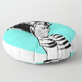 Summer (Blue) Floor Pillow