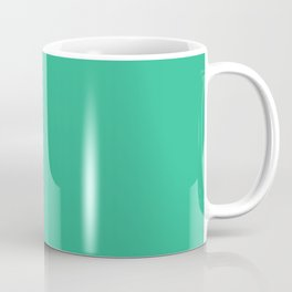 Mountain Meadow - solid color Coffee Mug