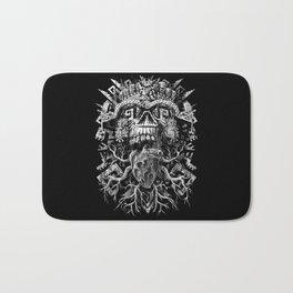 Aztec Skull Bath Mat