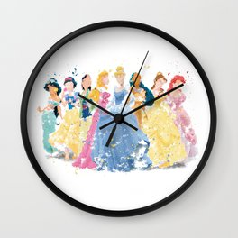 Disney.s Princess Cinderella Wall Clock