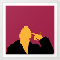 taxi driver Art Prints featuring Taxi Driver by FilmsQuiz