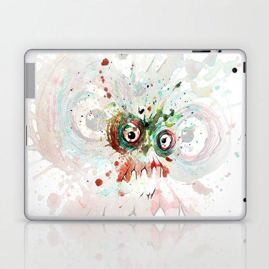 buzzed zombie Laptop & iPad Skin