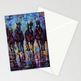 Free Roaming Wild Horses  Stationery Cards