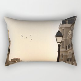 montmartre mornings Rectangular Pillow