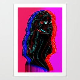 The Neon Demon Art Print