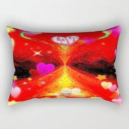 """""""Red Hot Love-a"""" Rectangular Pillow"""