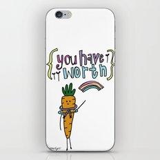 Worthy YOU. iPhone & iPod Skin