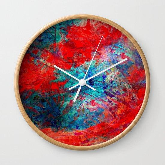 Quarrel Wall Clock