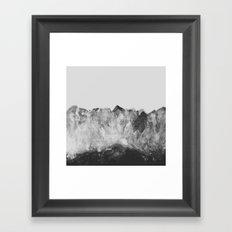 Crystal Soul Geode Framed Art Print