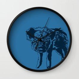 plasta cerdito Wall Clock