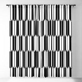 Japanese Zyagasuri Seamless Pattern Symbols Blackout Curtain