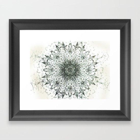 Aerial Side Effects Framed Art Print