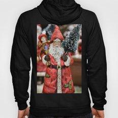 Ho, Ho, No! Santa looks grumpy! Hoody