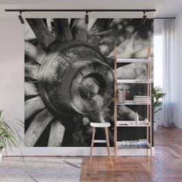 Wagon Wheel Hub Wall Mural