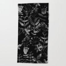 Abstract Botanical Garden V Beach Towel