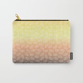 Palm Leave Sunset Carry-All Pouch