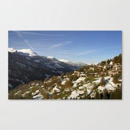 Schanfigg GR Langweis 5 Canvas Print
