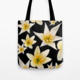 Dreaming white flower Tote Bag
