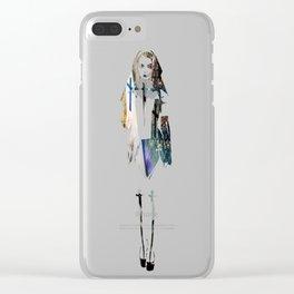 Teresa of Ávila-L'Angelo Vendicatore Clear iPhone Case