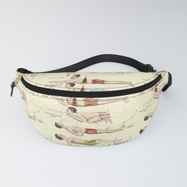 Old Fashioned Swimming Lessons Fanny Pack
