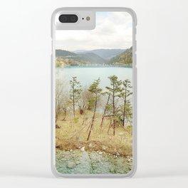 Zen_Island Clear iPhone Case