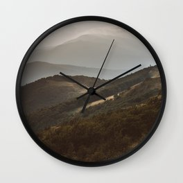 The Great Outdoors - Landscape and Nature Photography Wall Clock