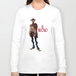 Il buono. The good, the bad and the ugly Long Sleeve T-shirt