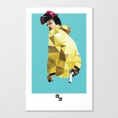 Jessie Pinkman // Breaking Bad Canvas Print