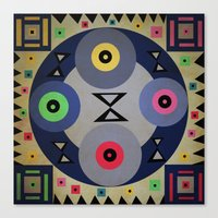 ferris wheel Canvas Prints featuring Ferris wheel by simay