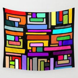 COLORS PARALLELOGRAM  Wall Tapestry