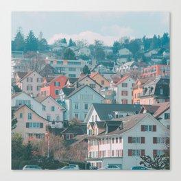 Zurich Gold Coast Canvas Print