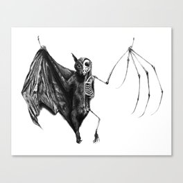 Half The Bat I Used To Be Canvas Print