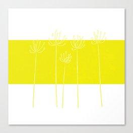 autumn seedheads Canvas Print